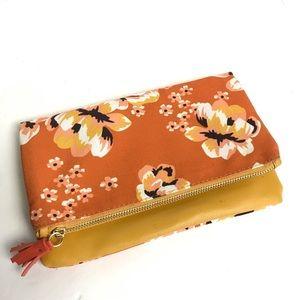 Rachel Pally Reversible Floral Reversible Clutch